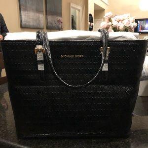NWT Michael Kors black shoulder bag